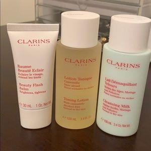 Clarins beauty set